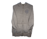 Men's Light Grey Full Zip Hoodie