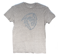 Women's Grey Full Logo T-Shirt