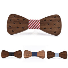 The Stanley Wooden Bow Tie Men/Boys