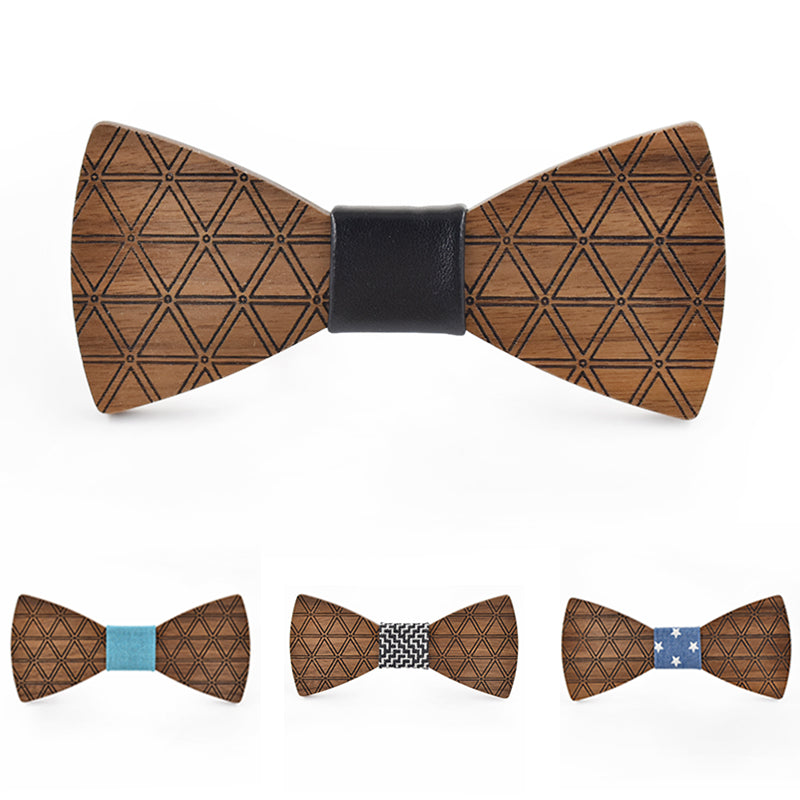 The William Wooden Bow Tie