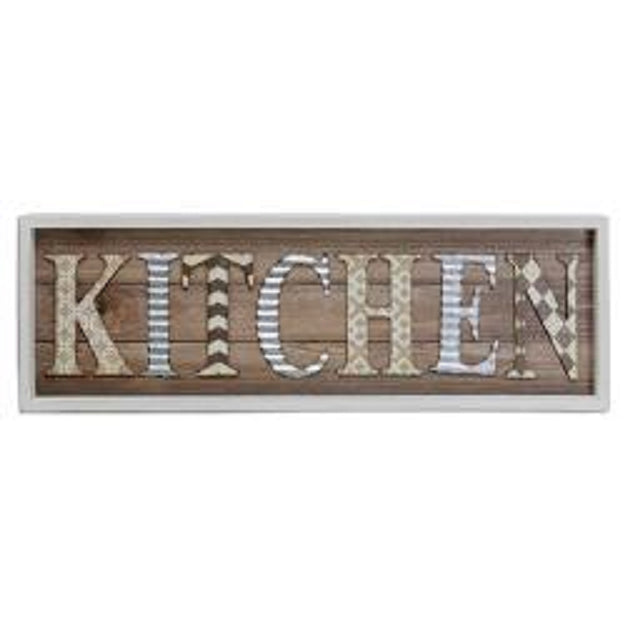 Kitchen Framed Sign