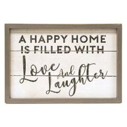 Love & Laughter Wall Sign