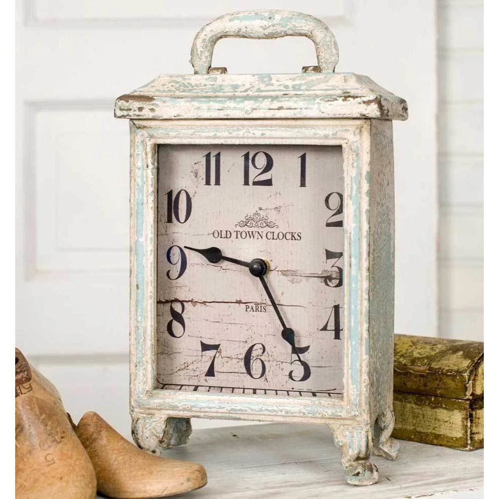 Carriage Clock - Farmhouse Decor
