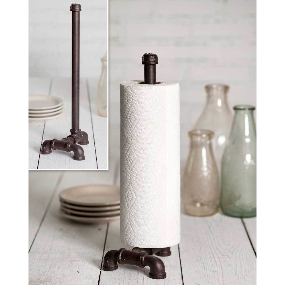 Industrial Tabletop Paper Towel Holder - Farmhouse Decor