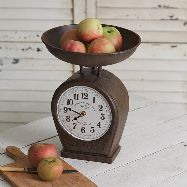 Christmas Countdown Metal Wall Sign with Chalkboard