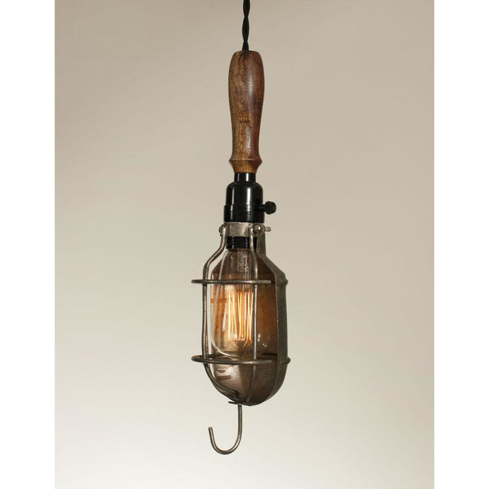 Trouble Light with Reflector - Farmhouse Decor