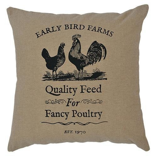 Fancy Poultry Pillow Cover, 16