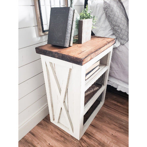 Ayla Farmhouse night stand - Farmhouse Decor