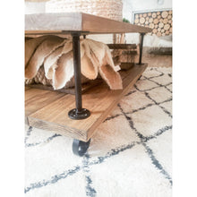 Antoinette Industrial Farmhouse Coffee Table