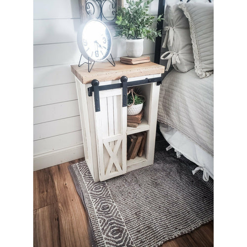 Aries Farmhouse Nightstand