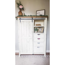 Paisley Farmhouse Armoire