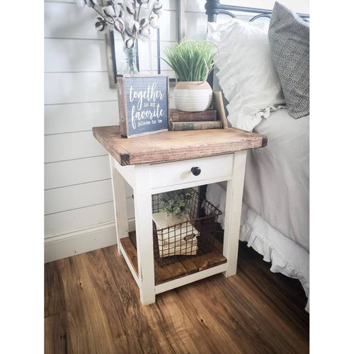 Athena Farmhouse nightstand