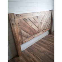 Alana Rustic Farmhouse King Headboard
