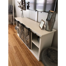 Ava Barn Door Entertainment Center - Farmhouse Decor