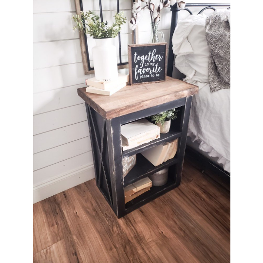 Milly Farmhouse night stand - Farmhouse Decor