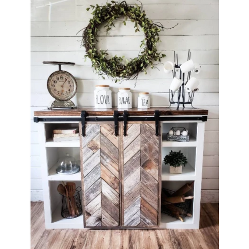 Audrina Farmhouse Coffee Bar - Farmhouse Decor