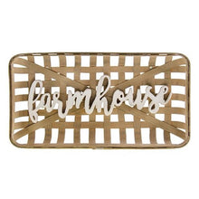 Farmhouse Tobacco Basket Wall Art