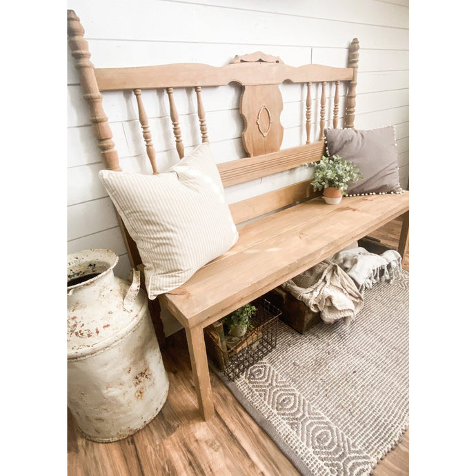 Vintage Farmhouse Bench