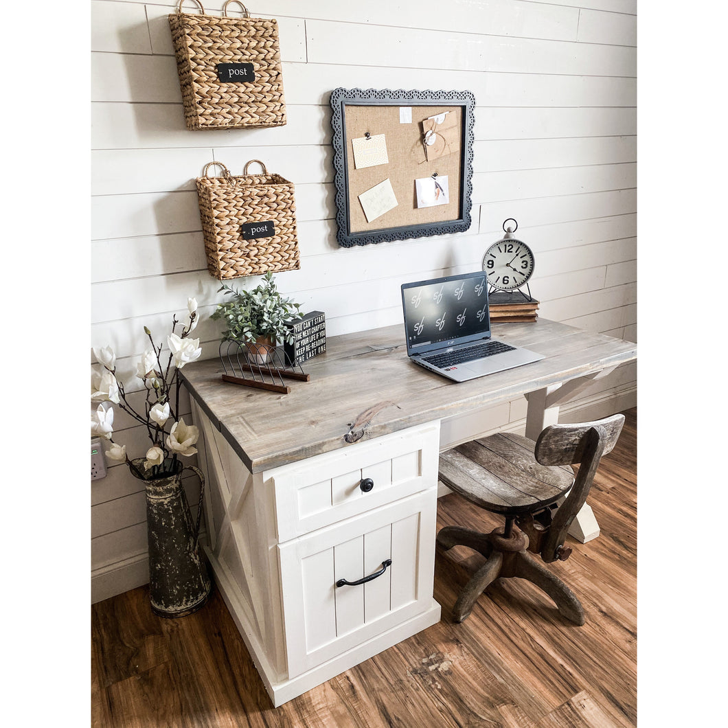 Chanel Farmhouse Desk
