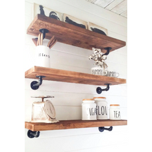 Farmhouse style rustic shelves - Farmhouse Decor