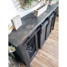 Alicia Farmhouse entertainment console