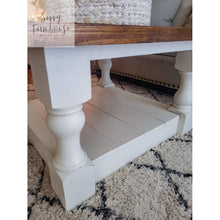 Amaya Farmhouse coffee table