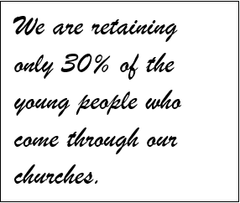 Raise Your Vision | The Church is Losing 7 Out of 10 Youth and Young Adults