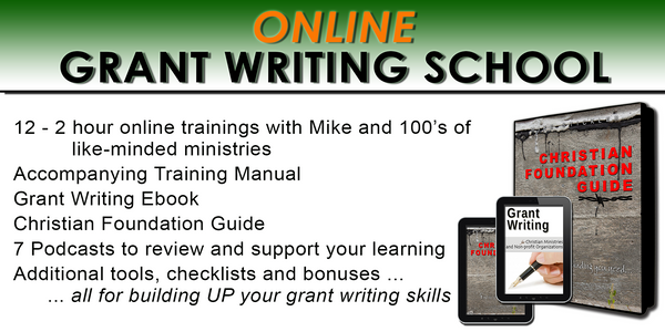 Online Grant writing school