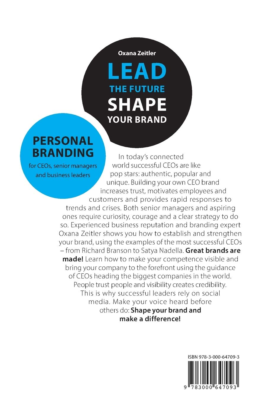 Lead The Future - Shape Your Brand - Leadership Books