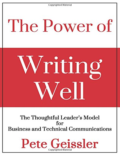 The Power Of Writing Well - Leadership Books