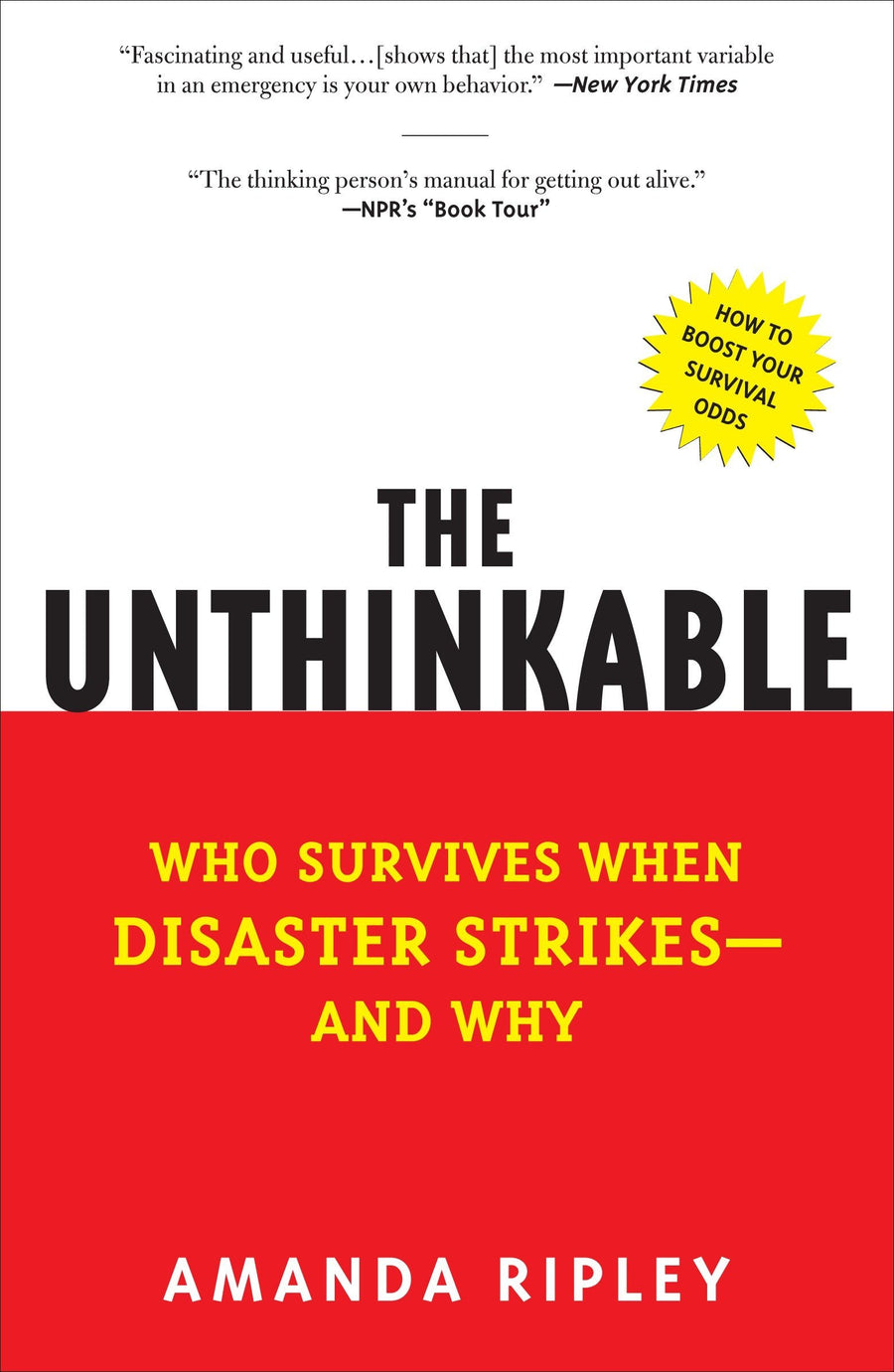 The Unthinkable: Who Survives When Disaster Strikes - Leadership Books