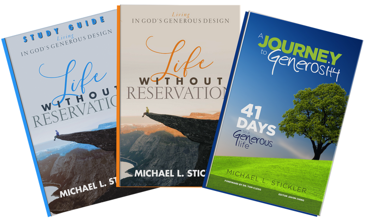 Life Without Reservation | Ministry Package - Leadership Books