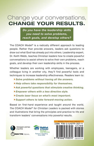 The Coach Model for Christian Leaders - Leadership Books