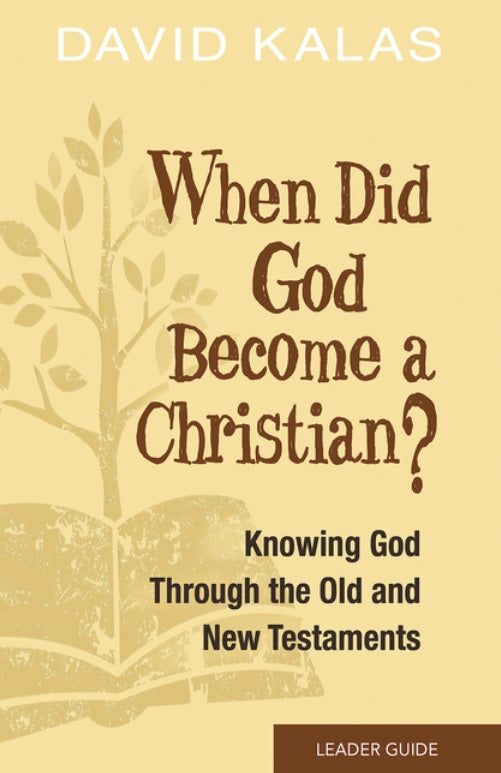 When Did God Become a Christian? Leader Guide - Leadership Books