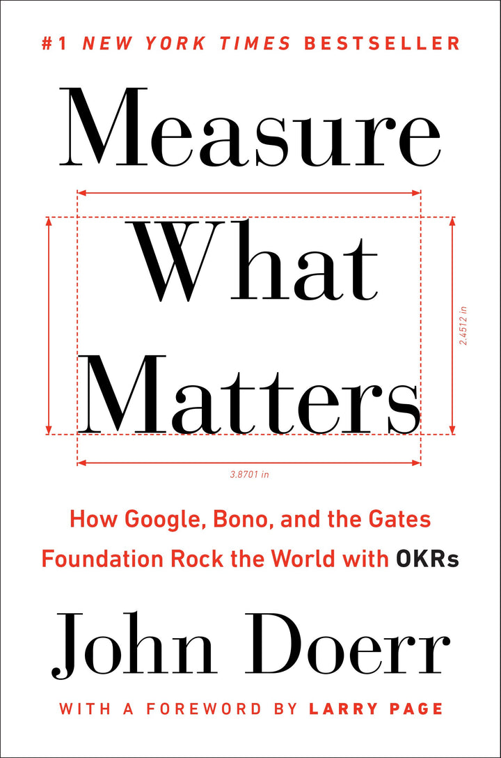Measure What Matters: How Google, Bono, and the Gates Foundation Rock the World with OKRs - Leadership Books