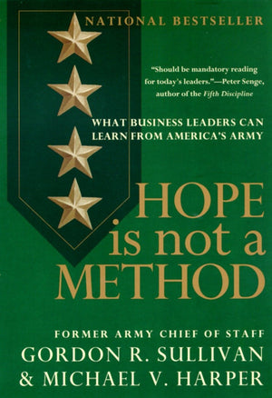 Hope Is Not a Method - Leadership Books