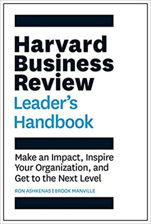 The Harvard Business Review Leader's Handbook - Leadership Books