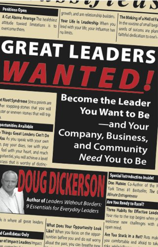Great Leaders Wanted! - Leadership Books