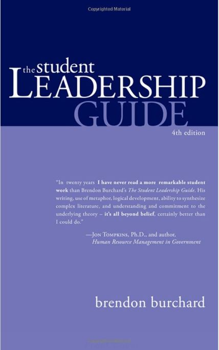 The Student Leadership Guide 4th Edition - Leadership Books