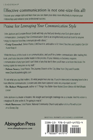 Leveraging Your Communication Style - Leadership Books