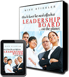How to Have the Most Effective Leadership Board on the Planet