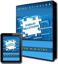 Public Relations for Ministry - GetPublished