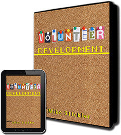 Volunteer Development of Ministry and Community Non-Profits - Leadership Books