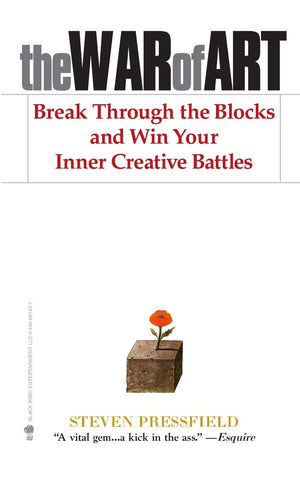 The War of Art: Break Through the Blocks and Win Your Inner Creative Battles - Leadership Books
