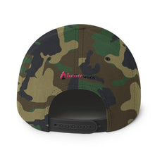 Flame Icon Snapback Hat - Light Colors