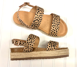 """Vida"" Cheetah Platform Wedge"