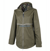Charles River New Englander Rain Jacket with Printed Lining