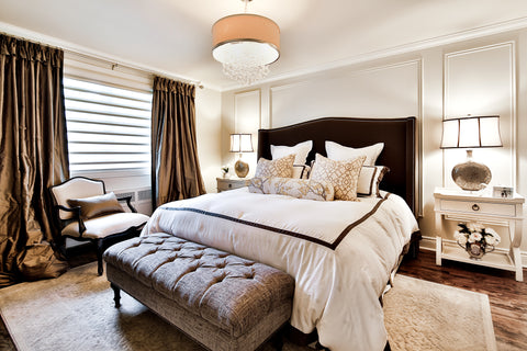 Designer Traditional Master Bedroom