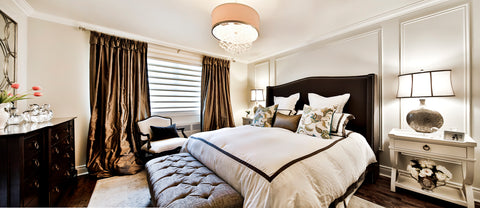 interior design traditional master bedroom