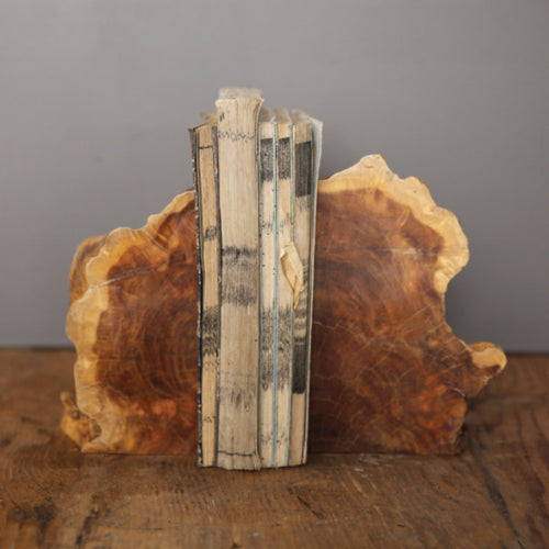 Madre de Cacao Wood Bookends